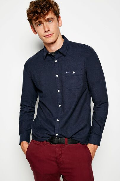 SALCOMBE LW FLANNEL PLAIN SHIRT