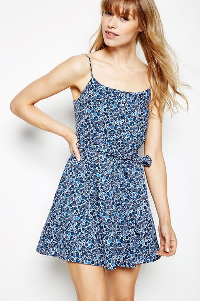 CARBANA FLORAL PRINT COTTON DRESS