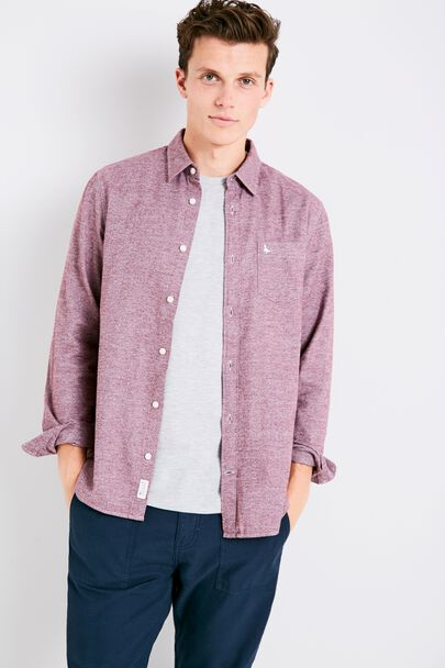 SALCOMBE FLANNEL PLAIN SHIRT