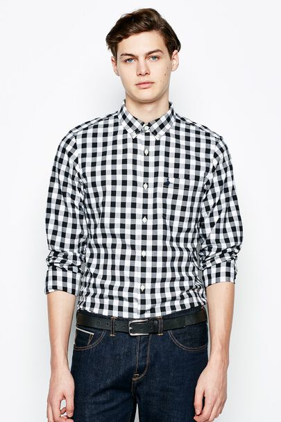 WADSWORTH CHECK OXFORD SHIRT