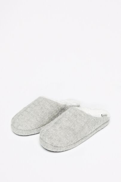 BERWICH CABLE SLIPPERS