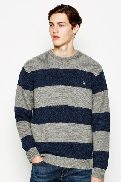WELAND RELAXED STRIPE CREW