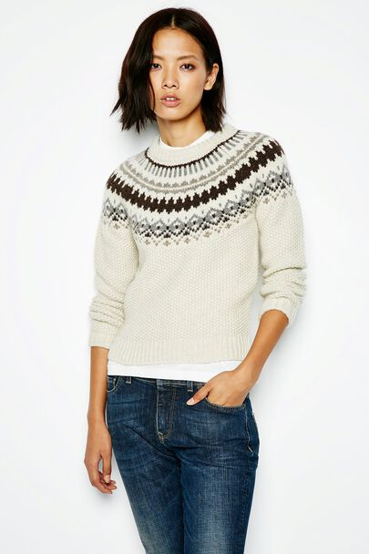APPLETON FAIRISLE JUMPER