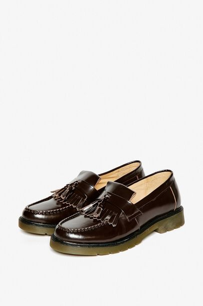 MILLCROFT CHUNKY FRINGED LOAFERS