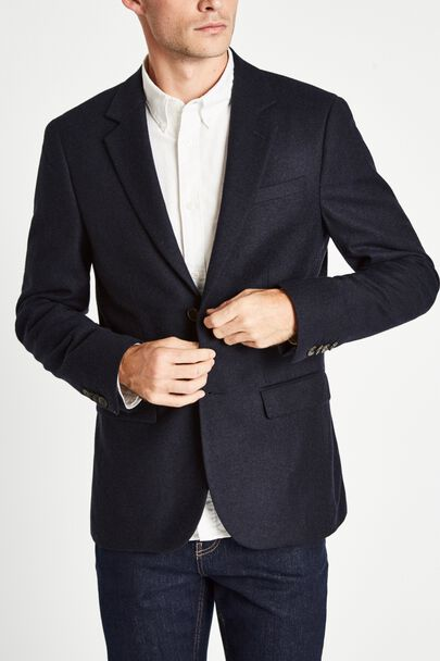 BLOOMSBURY FLANNEL SUIT JACKET