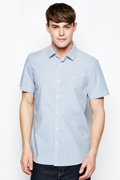 SALCOMBE SHORT SLEEVE STRIPE SHIRT