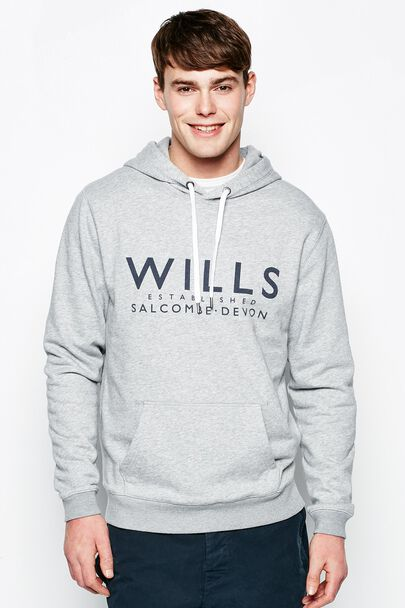 BATSFORD TEXT POPOVER HOODIE