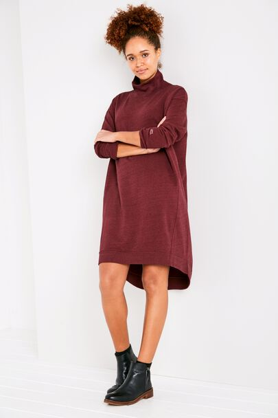 ELSWICK FUNNEL NECK SWEAT DRESS