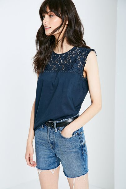 BRACKNELL LACE TOP