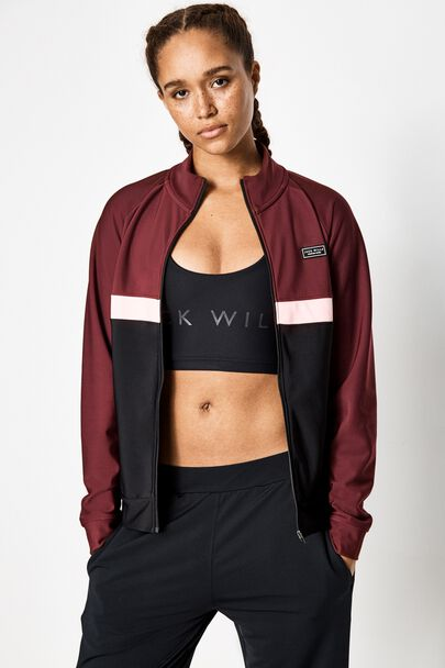 MILFORD ZIP UP TRAINING TOP