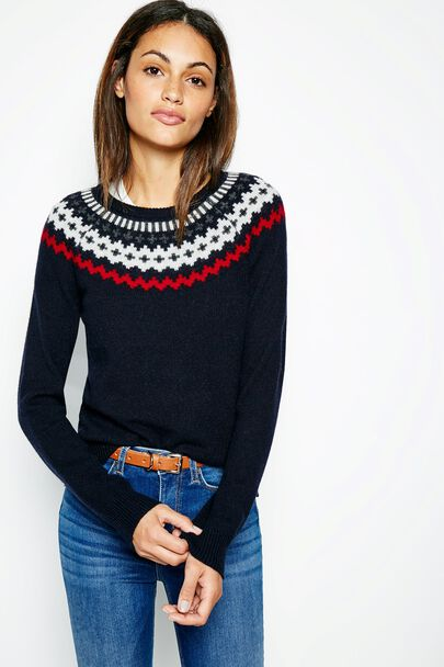 CHANCELLOR FAIRISLE JUMPER
