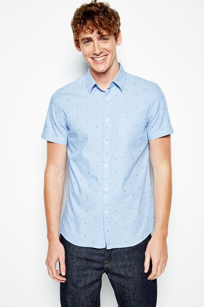 NORTHBRIDGE SS POPLIN DOBBY SHIRT