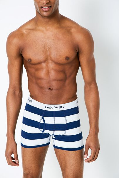 CHETWOOD STRIPE BOXER SHORTS SET