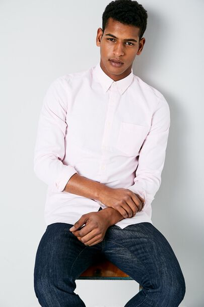 WADSWORTH OXFORD STRIPE SHIRT