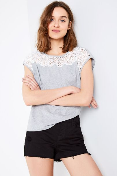 ALRESHFORD BRODERIE T-SHIRT