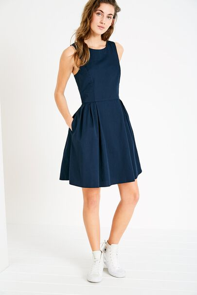 JASMIN FIT & FLARE DRESS