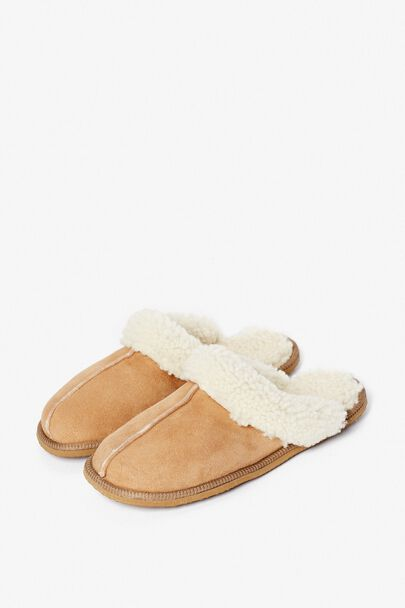NETHERTON SHEEPSKIN SLIPPER MULE