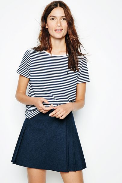ALDHOUSE STRIPED T-SHIRT