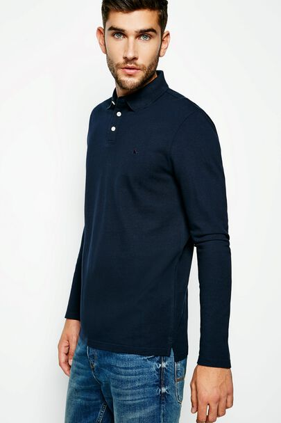 STAPLECROSS LONG SLEEVE POLO SHIRT