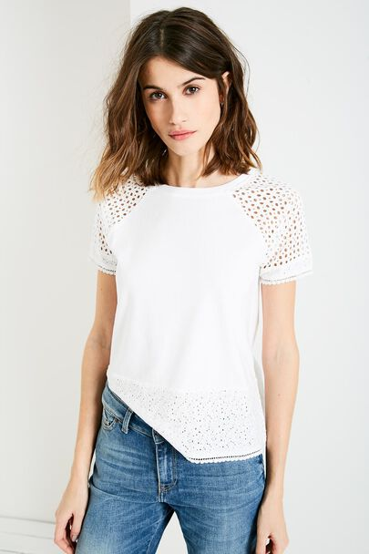BRENTHALL LACE T-SHIRT