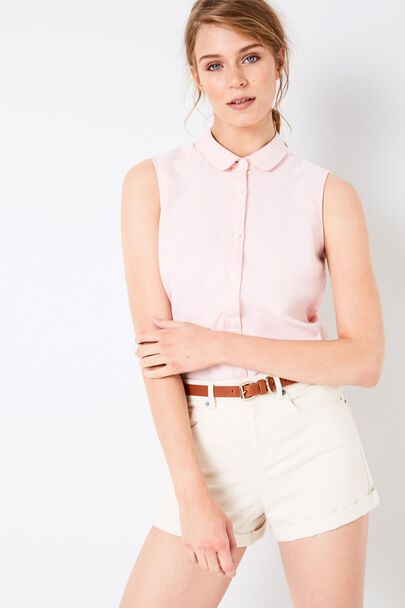 AVERTON SLEEVELESS SHIRT