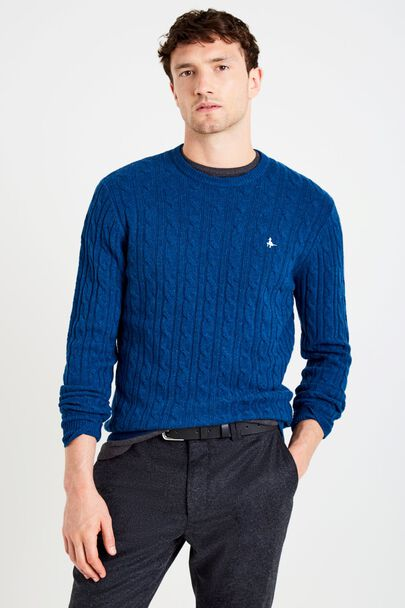MARLOW CABLE CREW NECK JUMPER