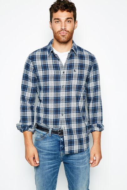 SALCOMBE MW FLANNEL CHECK SHIRT