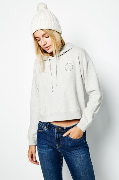 SMALLRIDGE CROPPED HOODIE