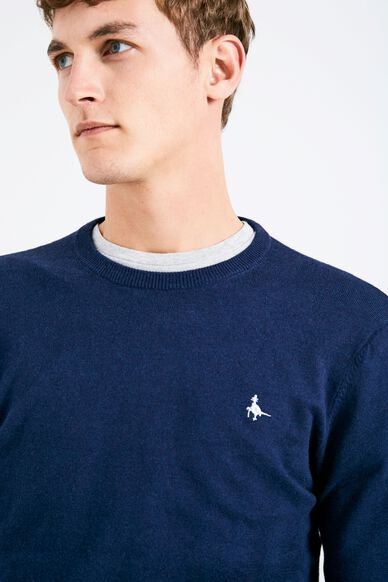 SEABOURNE CLASSIC CREW NAVY MARL