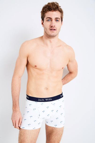 BRIDGENORTH PALM PRINT BOXER SHORTS