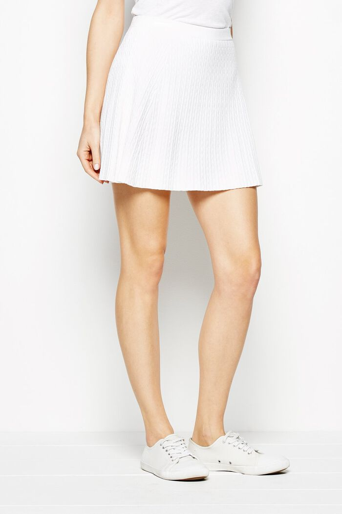 Product photo of Widnington cable skirt white