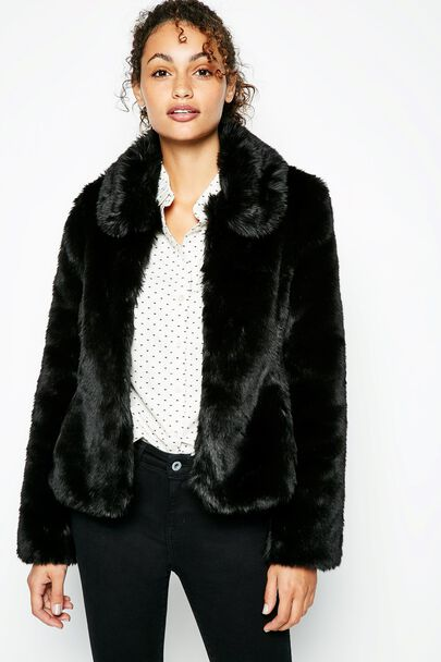 BEARWOOD FAUX FUR JACKET