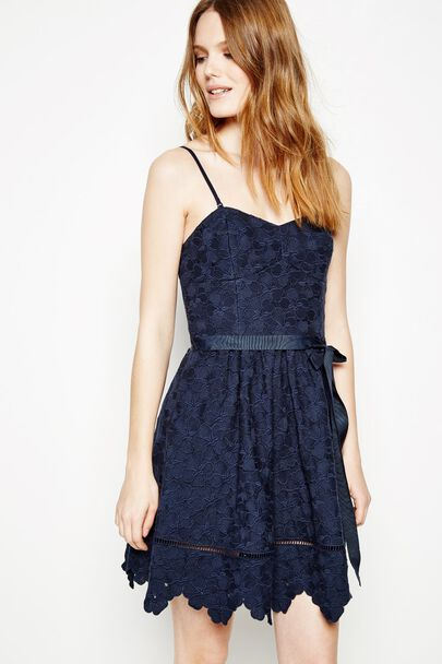 BEBINGTON STRAPPY LACE DRESS