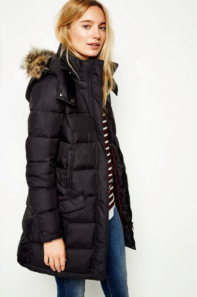 BASSINGBOURNE LONGLINE PADDED COAT