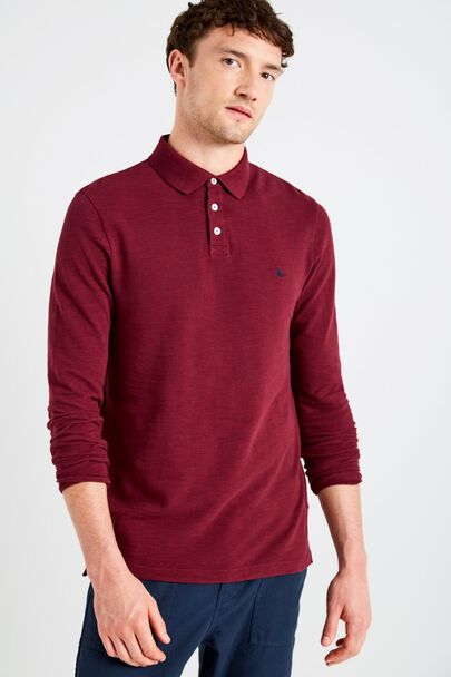 STAPLECROSS LS POLO SHIRT
