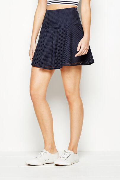 WESTLYNN FIT AND FLARE SKIRT