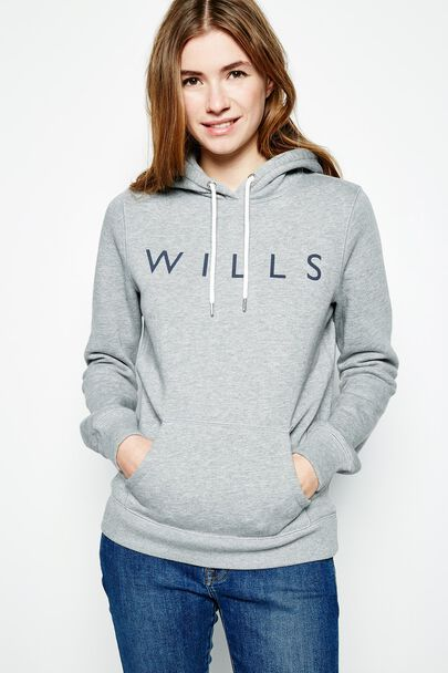 Crafted from a cotton mix in super-soft brushback fleece, this hoodie has Jack Wills eyelets with drawcords as well as Jack Wills branding at the sleeve hem. Wear it with your favourite A-line skirt or skinny jeans for the perfect look.