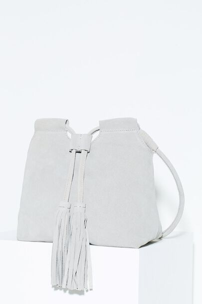 BICKLEY MINI SUEDE BUCKET BAG