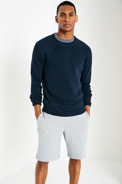 ASHLAWN SPORTS CREW NECK SWEATER