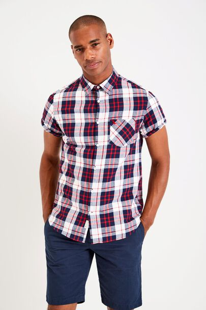 STABLETON SHORT SLEEVE CHECK  SHIRT