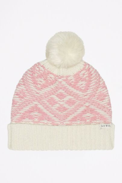 THURLOW FAIRISLE POM POM HAT