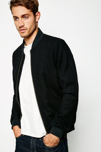 EASTHOPE WOOL BOMBER JACKET