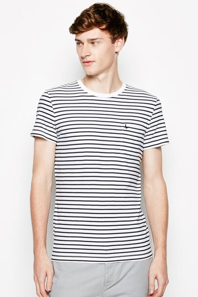 AYLEFORD STRIPE POCKET T-SHIRT