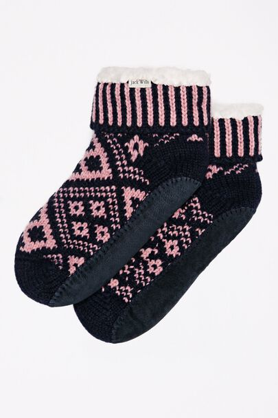 WALDERTON SLIPPER SOCKS