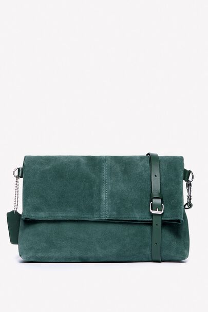 NORTHCOTE CROSSBODY SUEDE BAG