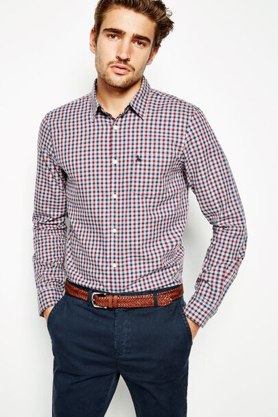 SALCOMBE LW FLANNEL CHECK SHIRT