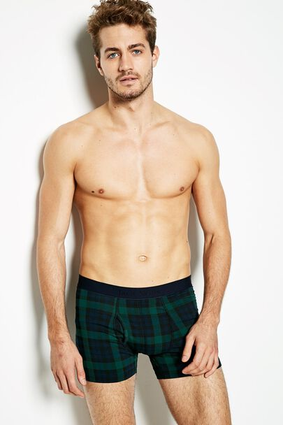 BRIDGENORTH CHECK BOXER SHORTS