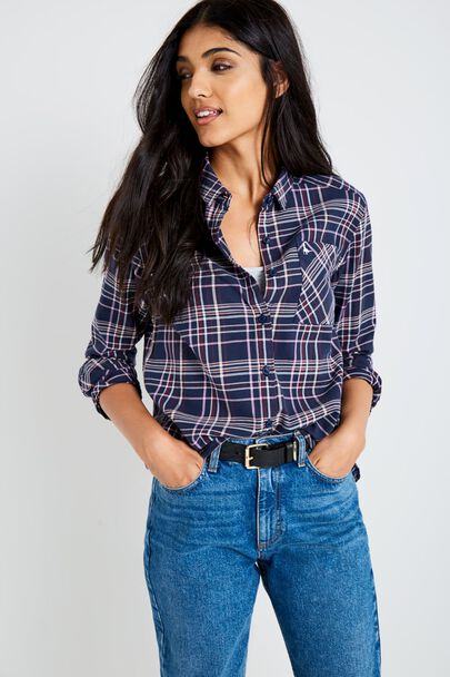 BLISSFORD GIRLFRIEND CHECK SHIRT