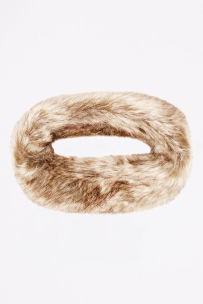LAMMERTS FAUX FUR HEADBAND
