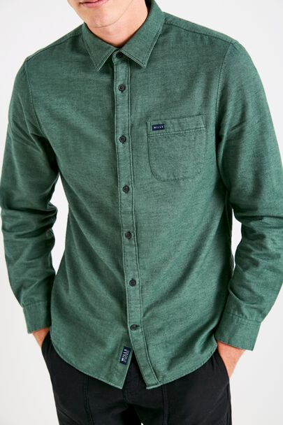 SOMERBY TEXTURED FLANNEL SHIRT